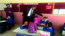 İlçe Milli Eğitim Müdürü Yükselen Drursun Yeniköy İlk-Orta Okulunu Ziyaret Etti