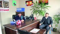 Ak Parti İlçe Başkanı Çağrı Balcıdan Gazeteciler Gününde Ziyaret