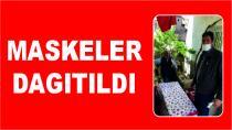 MASKELER DAGITILDI