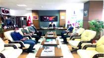 İlçemiz Muhtarlarından Kamu ve Özel Sektör Kuruluşlarına Ziyaret
