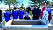 Regaip Kandilinde Şehit Mezarları Ziyaret Edildi