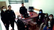 Ak Parti İlçe Kadın Kollarından İlçe Emniyet Müdürlüğüne Ziyaret
