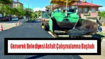 Gemerek Belediyesi Asfalt Çalışmalarına Başladı
