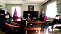 Yeni Emniyet Müdürü Kumlu'dan Kaymakam Kayatürk'e Ziyaret